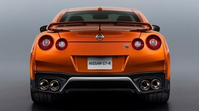 Nissan New GT-R rear