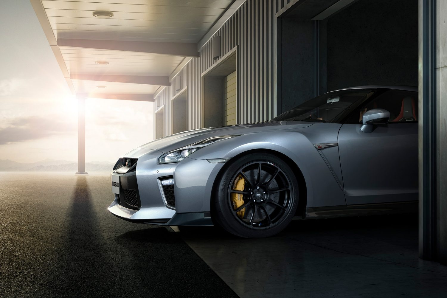 GT-R - THE REAL SECRET OF SPEED