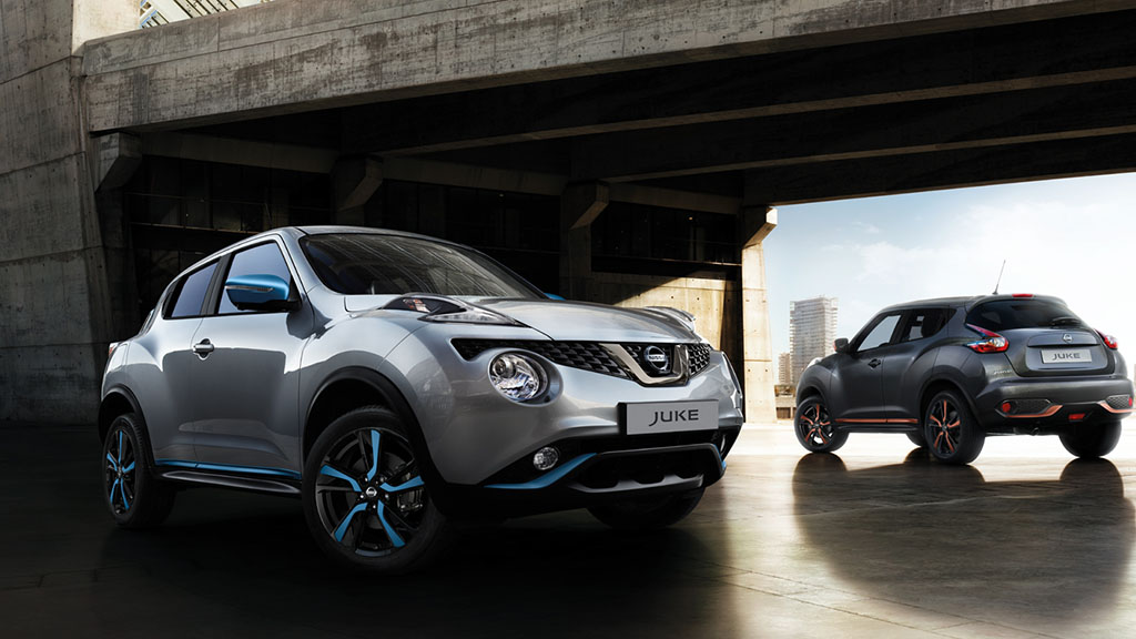 New Nissan Juke 7/8 rear driving shot
