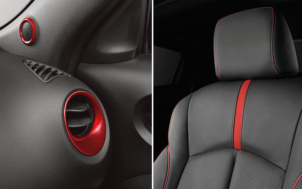 Compact & mini SUV design - Personalise Interior pack | Nissan Juke
