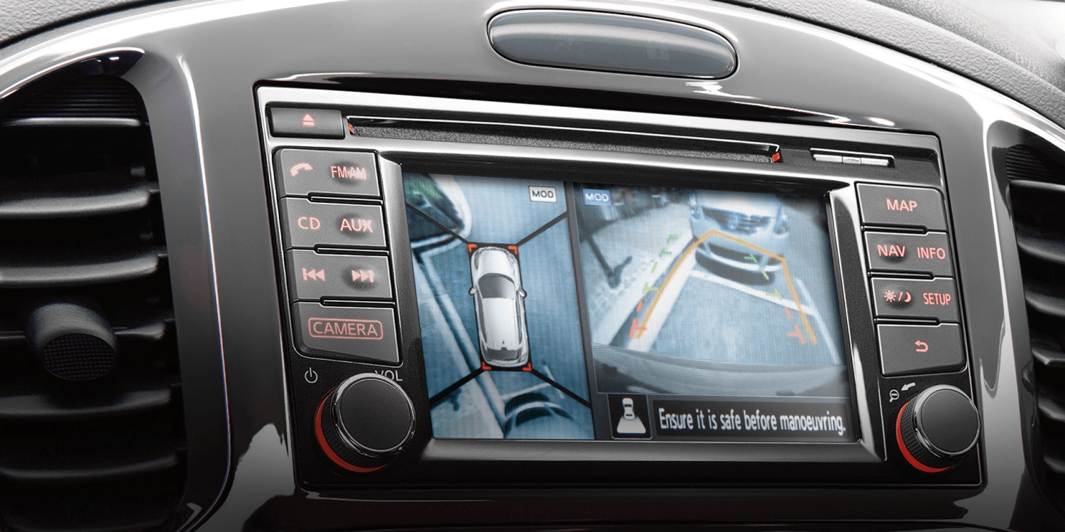 Compact & mini SUV features - NissanConnect multimedia system | Nissan Juke