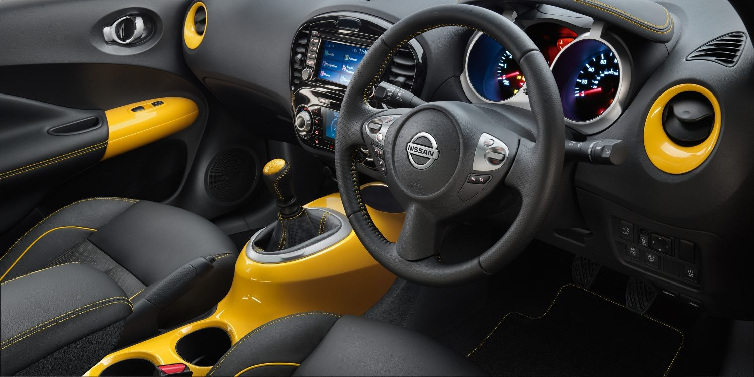 Compact & mini SUV features - Small SUV interior | Nissan Juke