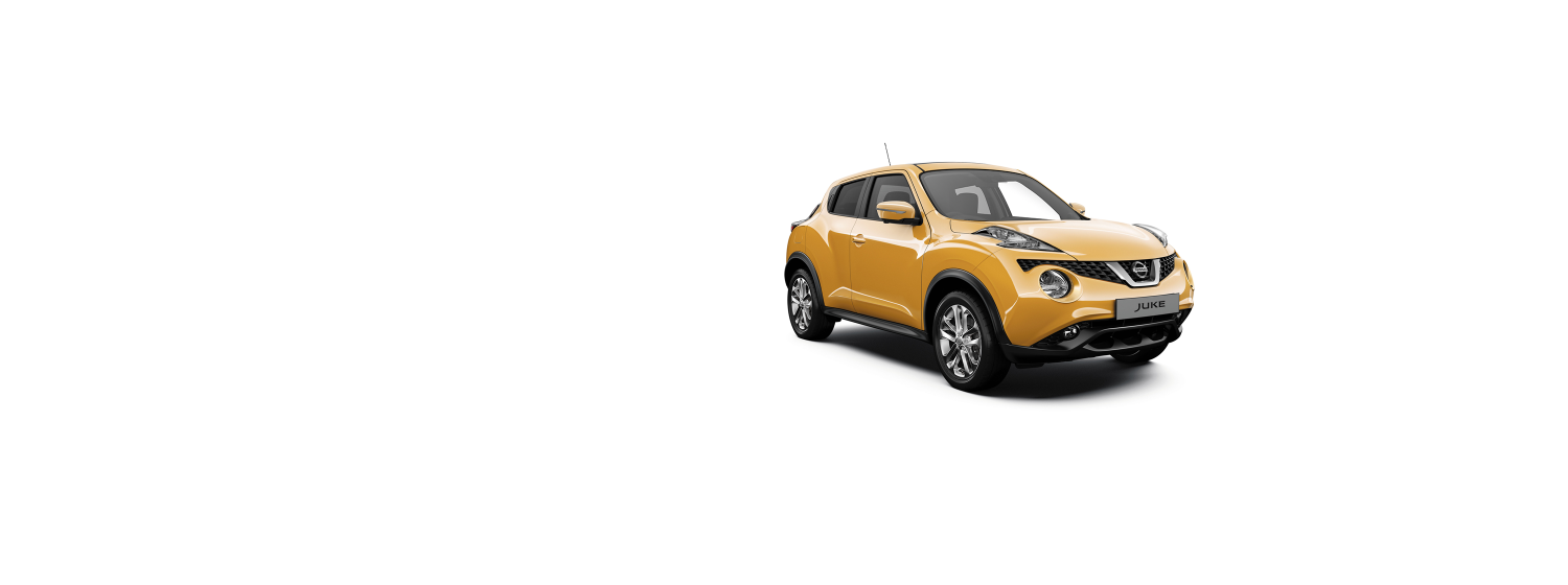 Nissan Juke - Sunlight Yellow