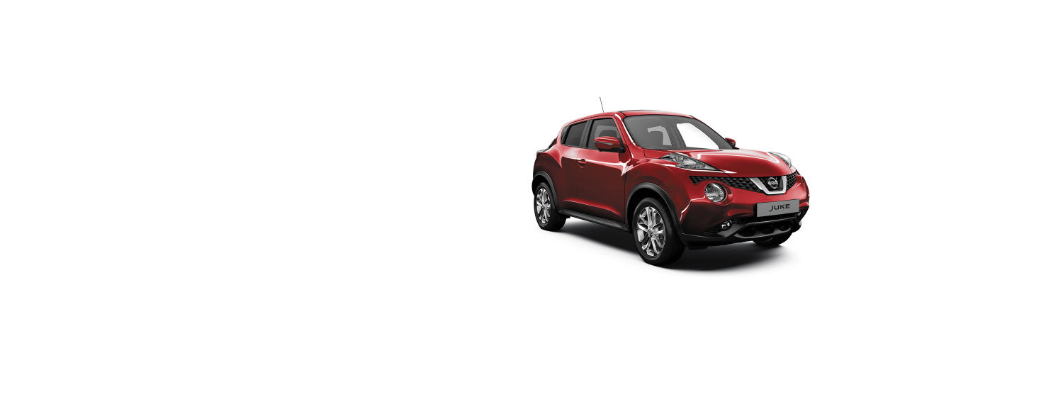 Nissan Juke - Magnetic Red