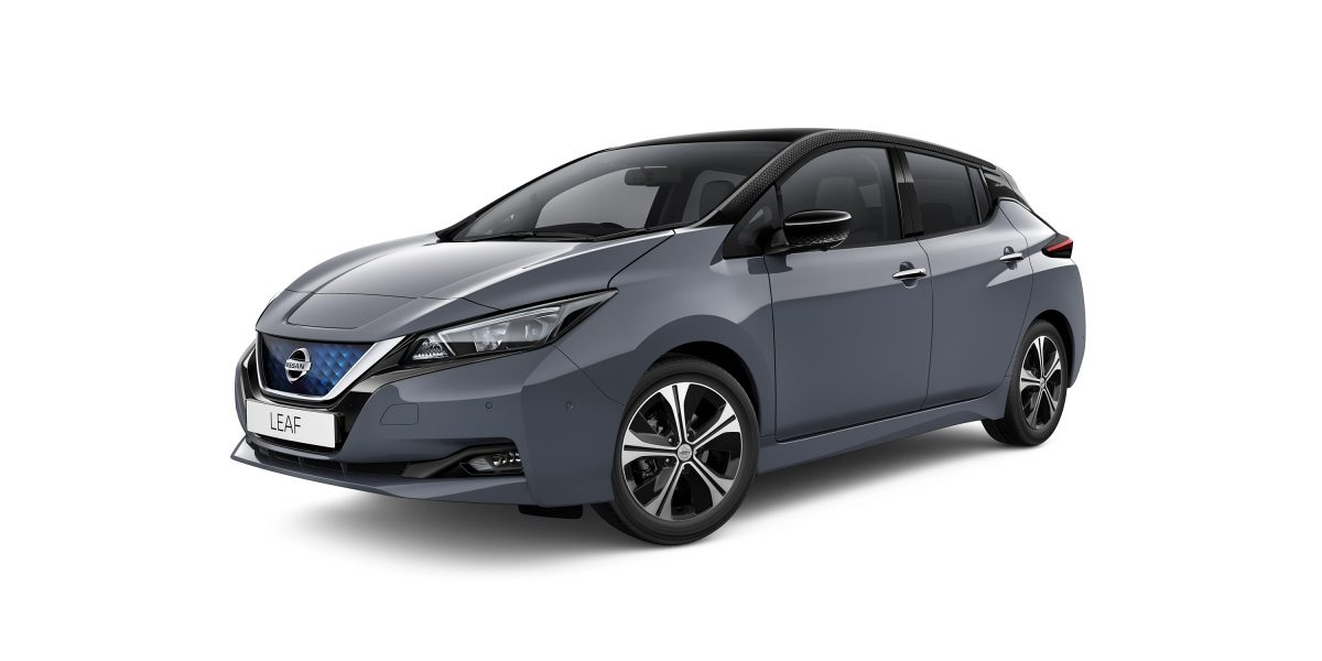 Nissan LEAF in grey