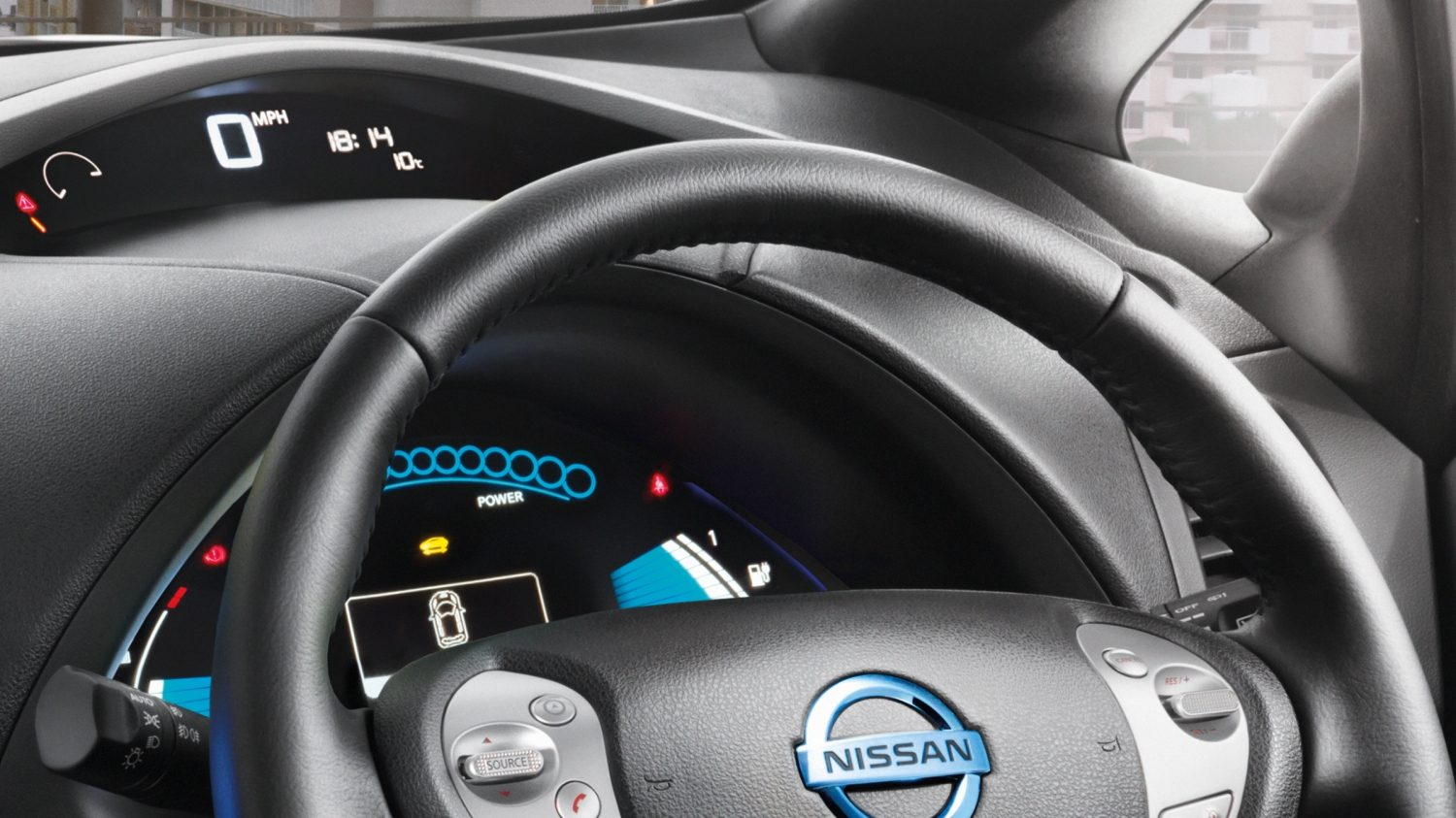 Nissan LEAF Black Edition - Digital dashboard