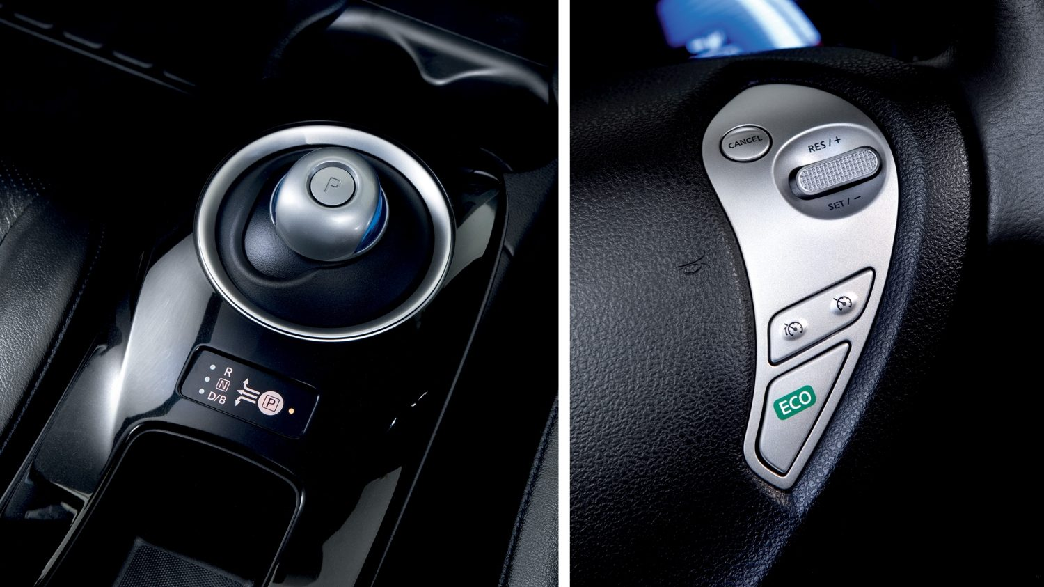 Nissan LEAF Black Edition - Enhanced driving modes