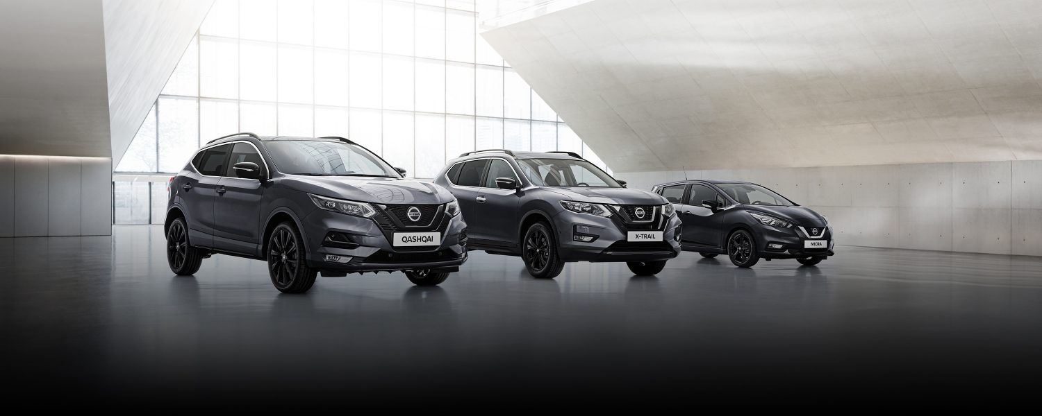 Nissan N-TEC range with QASHQAI, X-TRAIL and MICRA
