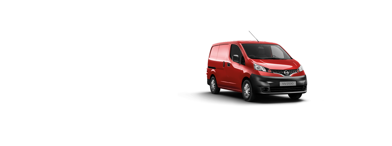 Nissan NV200 - Solid Red