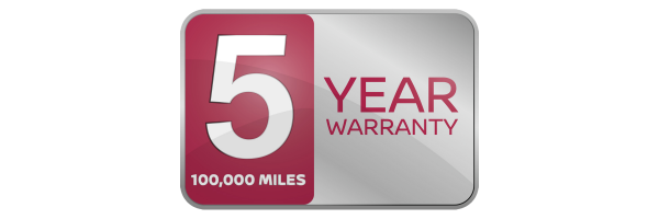 Nissan 5-year warranty logo