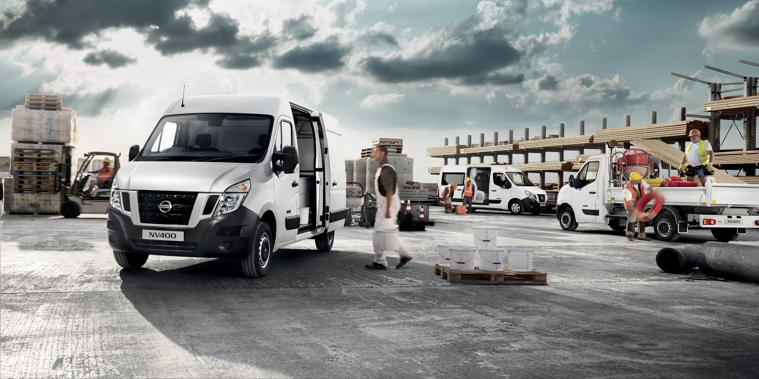 Nissan NV400 | Commercial vehicle in use
