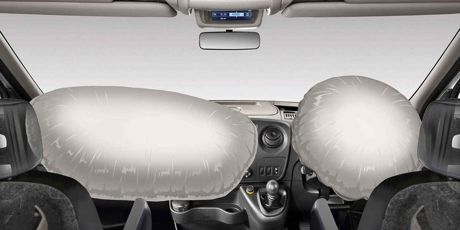 Nissan NV400 -  Airbag area