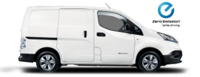Nissan e-NV200 Van - Sideview