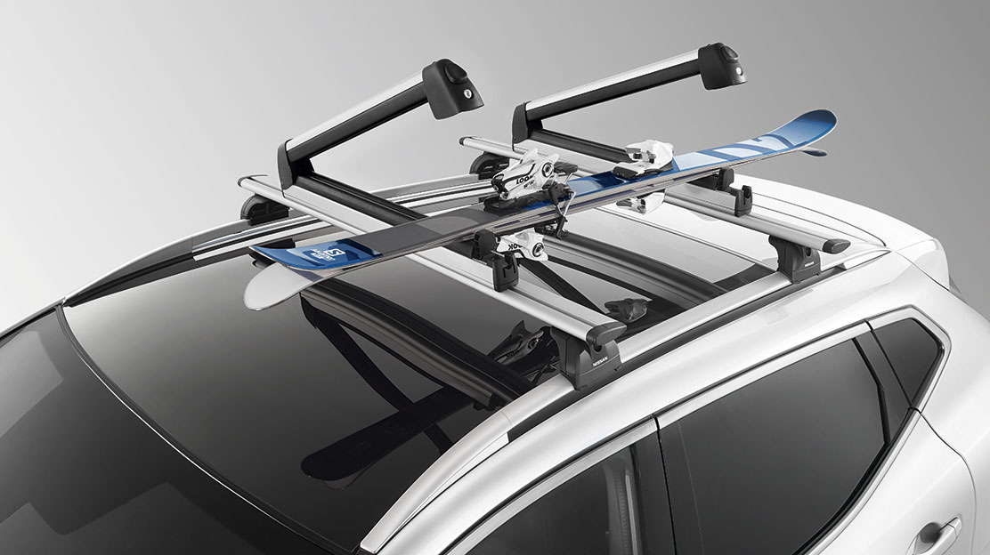 Ski carrier  Up to 6 pairs  Slideable