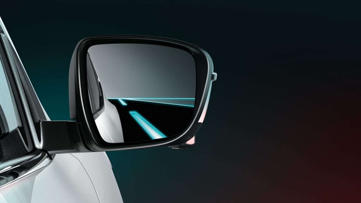 Small SUV features - Blind Spot Warning | Nissan Qashqai