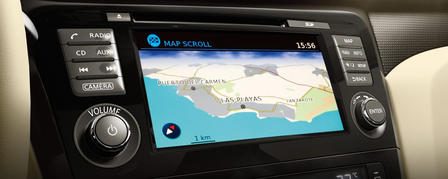 NissanConnect with smartphone apps navigation system