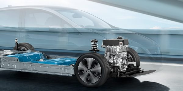 Nissan LEAF chassis
