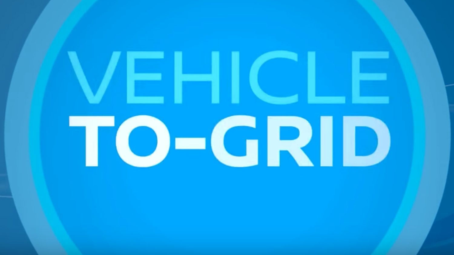 Video Nissan Vehicle-to-grid