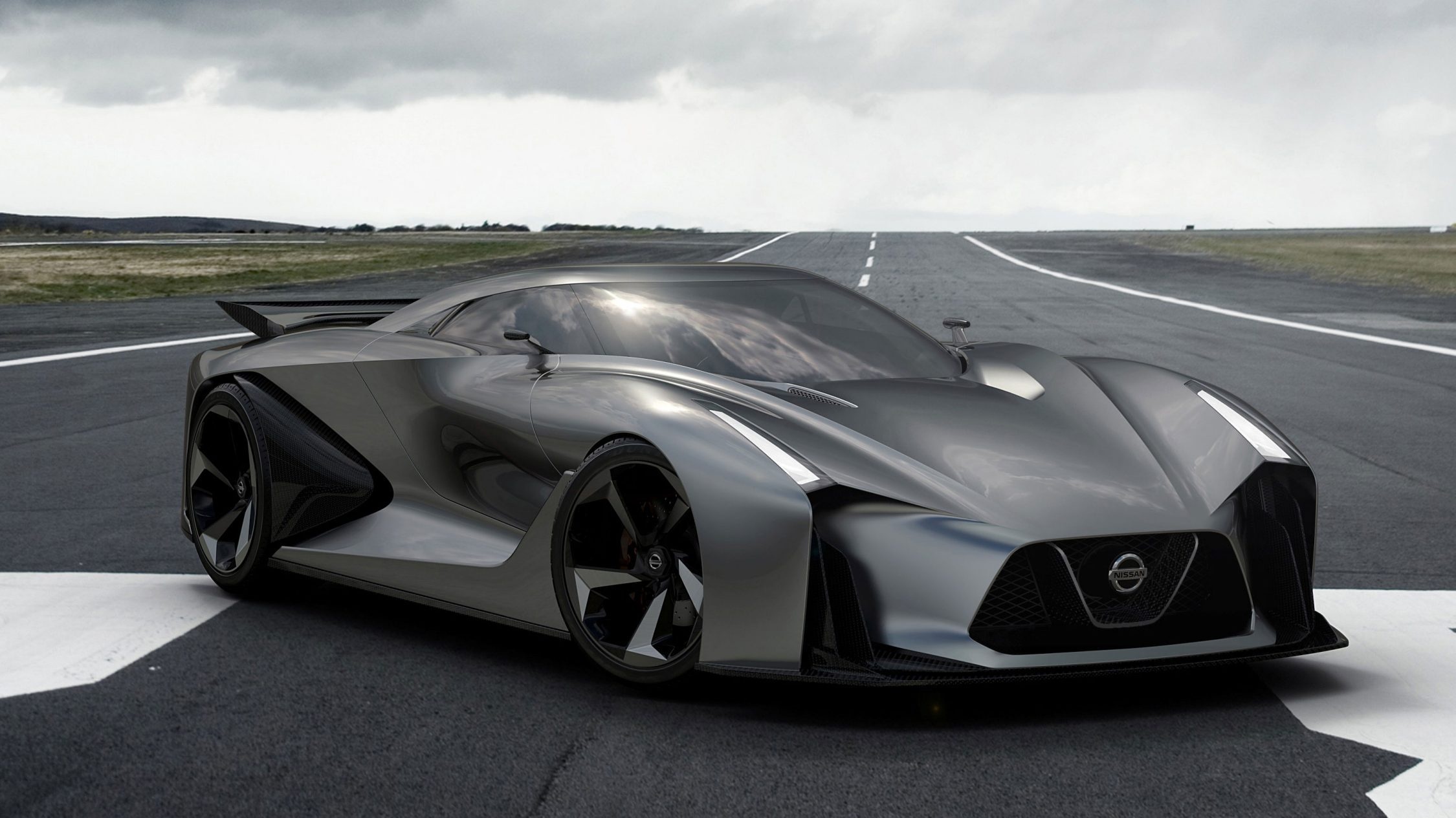 Experience Nissan - Concept car - 2020 Vision Gran Turismo - 3/4 front view