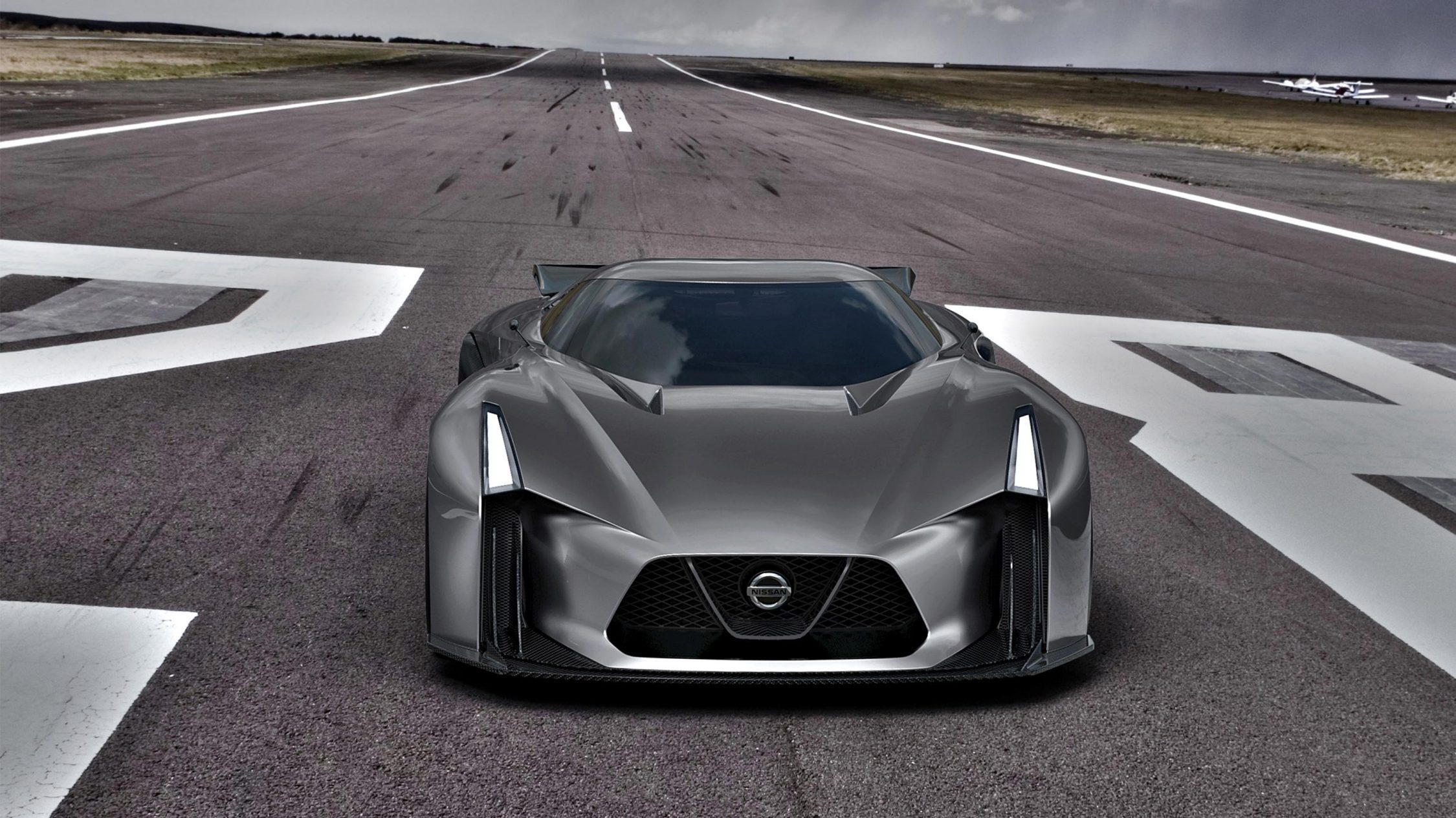 Experience Nissan - Concept car - 2020 Vision Gran Turismo - front view