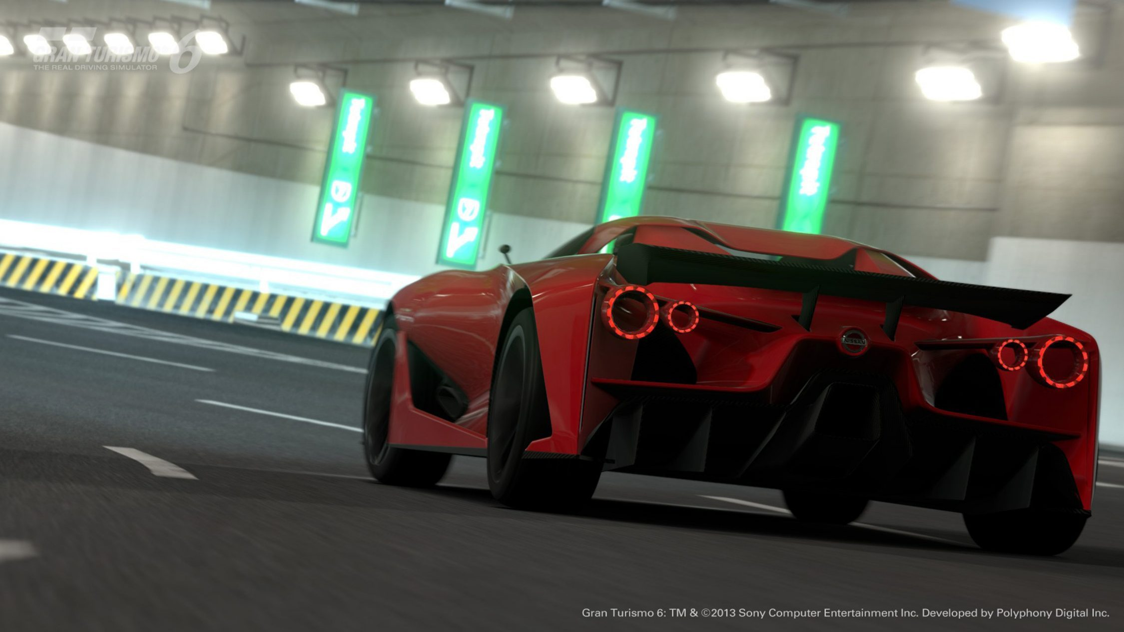 Experience Nissan - Concept car - 2020 Vision Gran Turismo - rear view