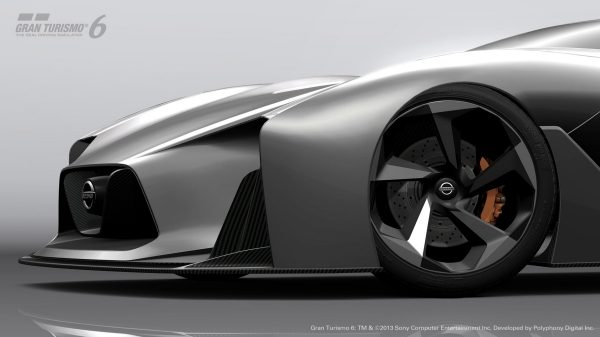 Experience Nissan - Concept car - 2020 Vision Gran Turismo - wheel