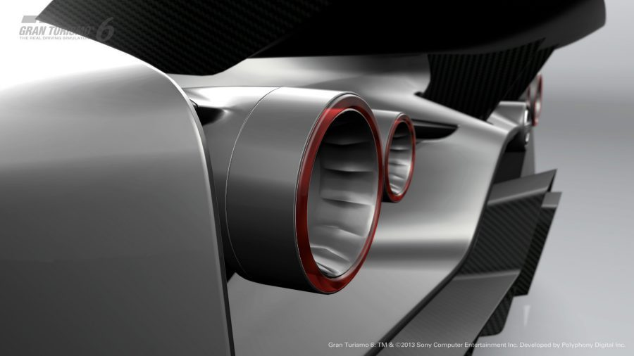 Experience Nissan - Concept car - 2020 Vision Gran Turismo - taillights