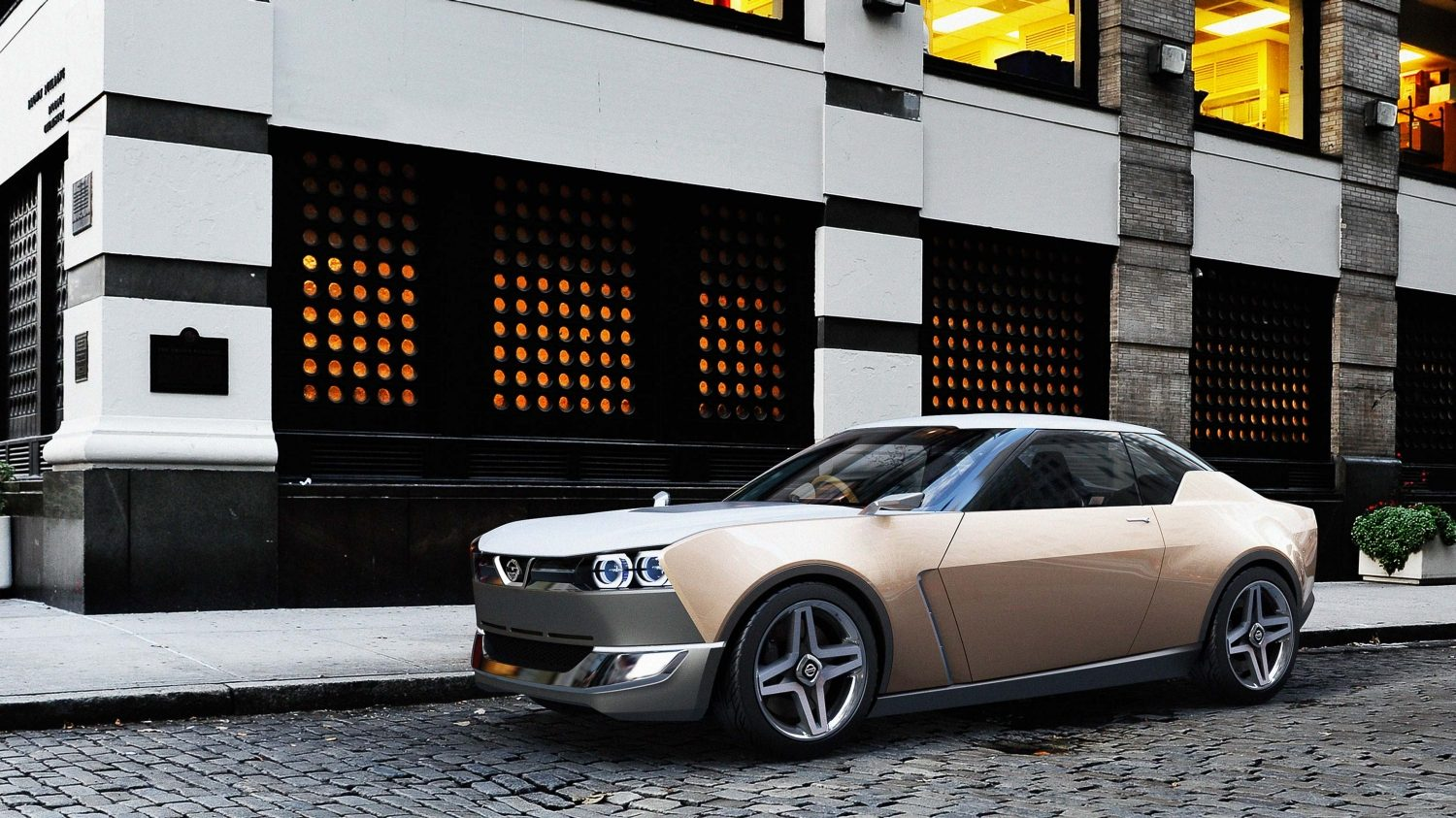 Experience Nissan - Concept car - IDx Freeflow - side view