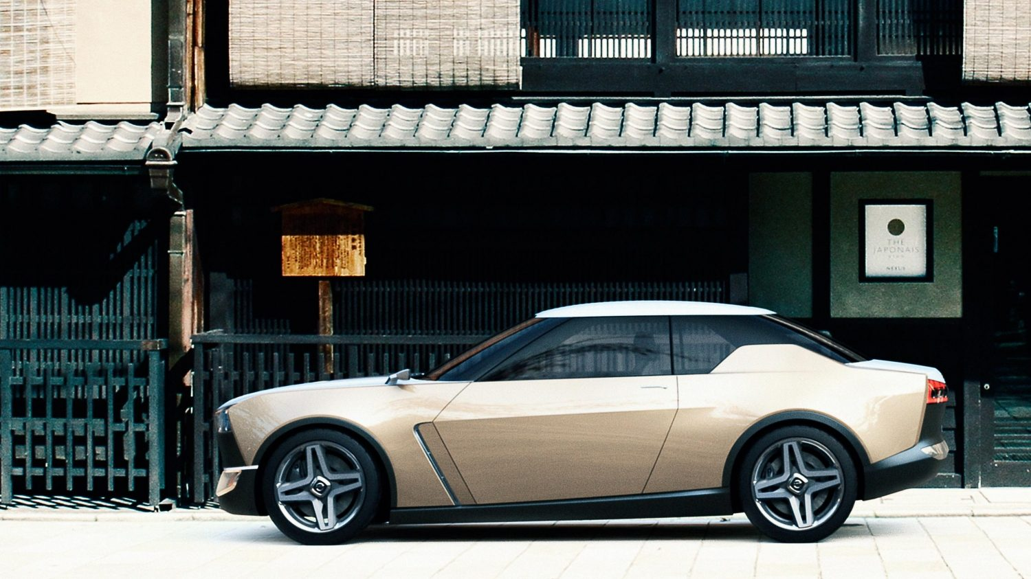 Experience Nissan - Concept car - IDx Freeflow - profile