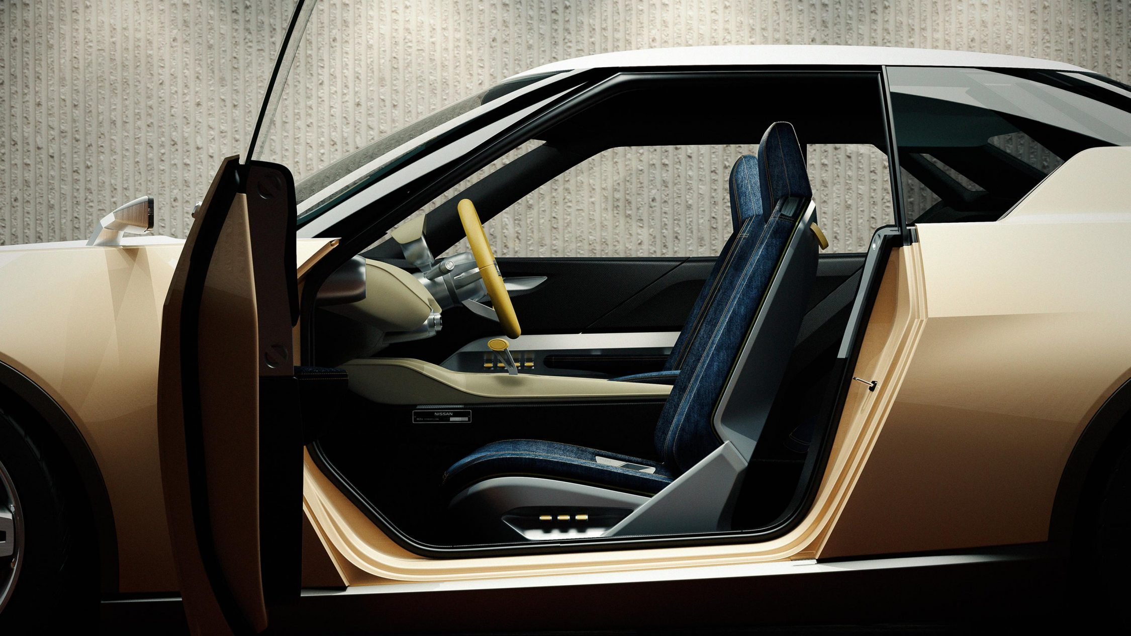 Nissan IDX Freeflow Concept profile passenger-side door open