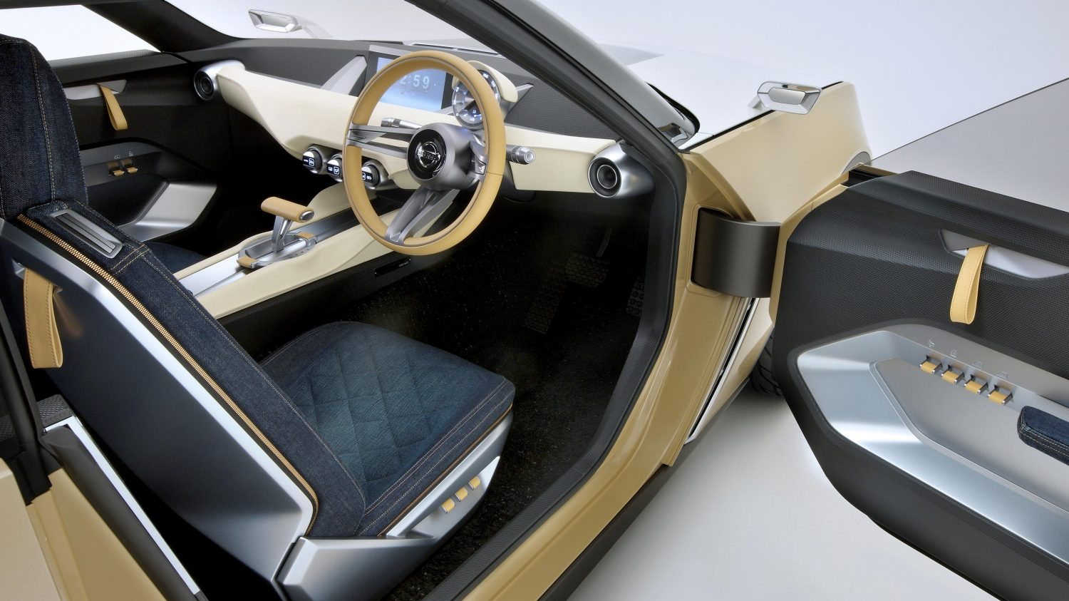 Experience Nissan - Concept car - IDx Freeflow - interior view