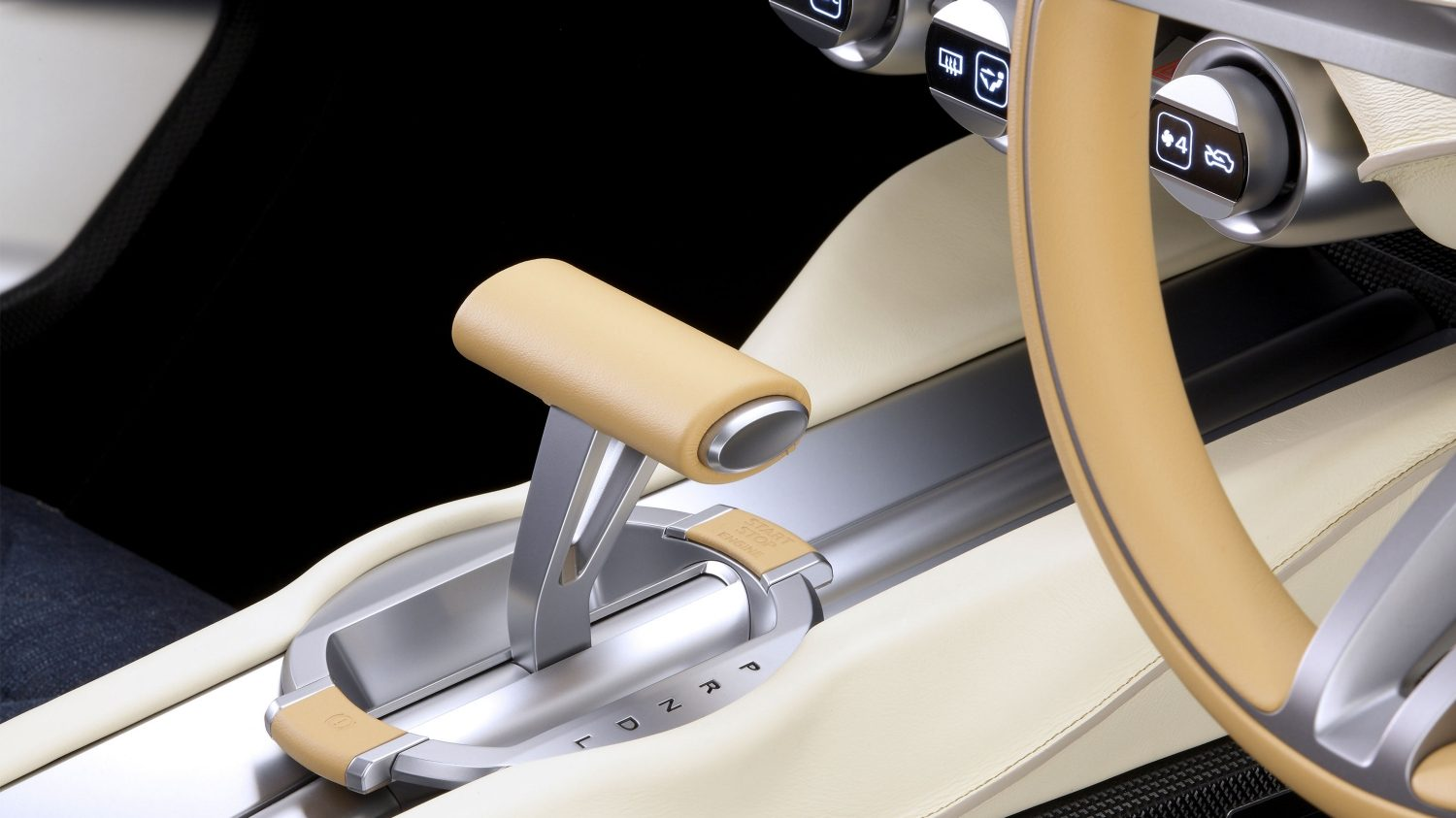 Experience Nissan - Concept car - IDx Freeflow - shifter