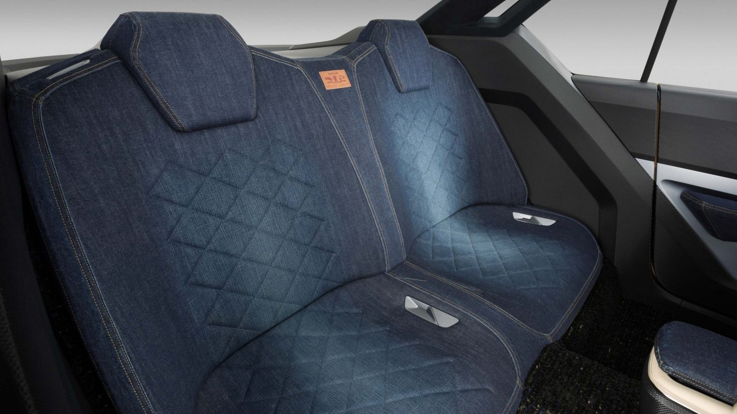 Nissan IDX Freeflow Concept denim rear seats