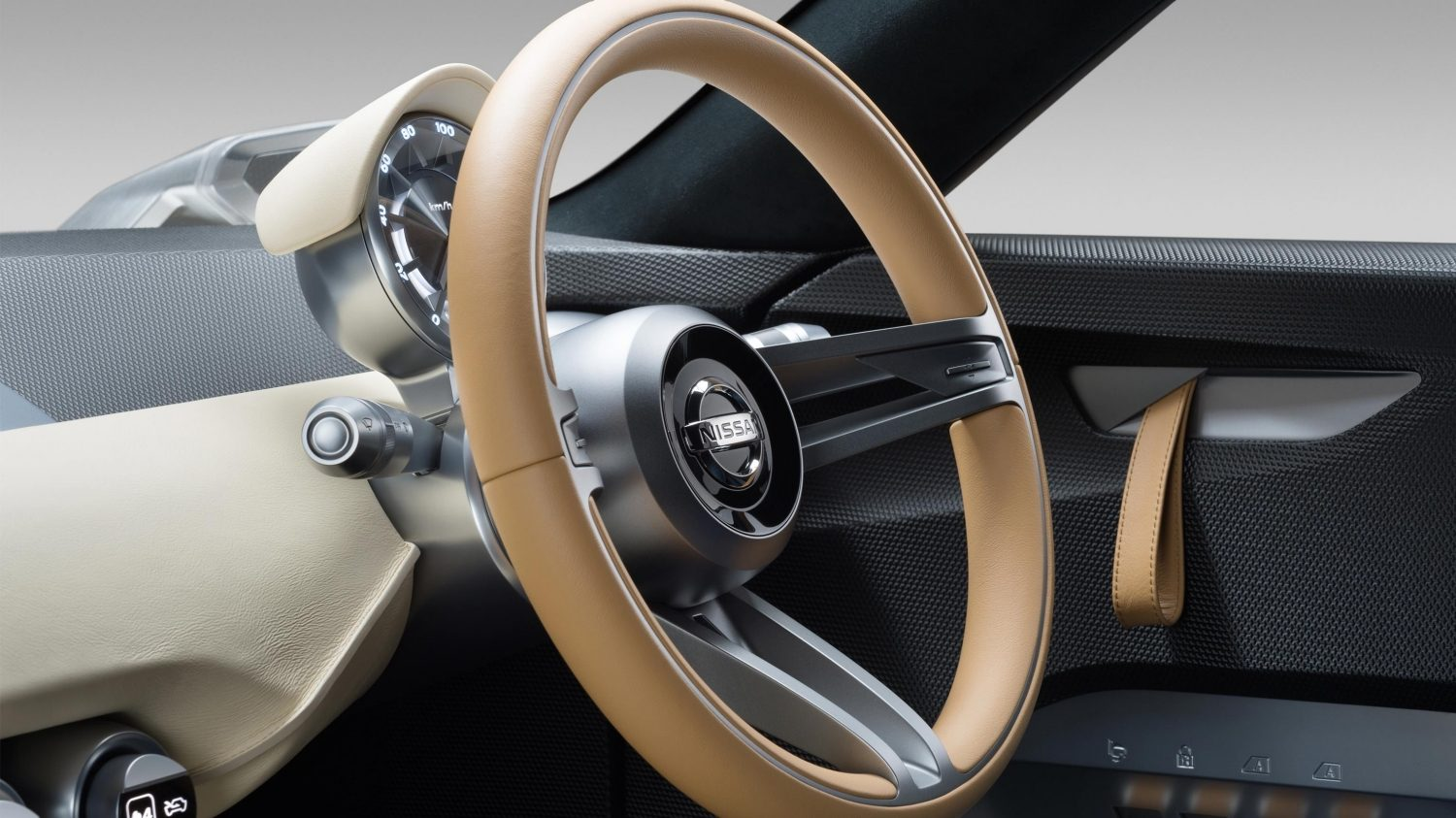 Nissan IDX Freeflow Concept steering wheel.