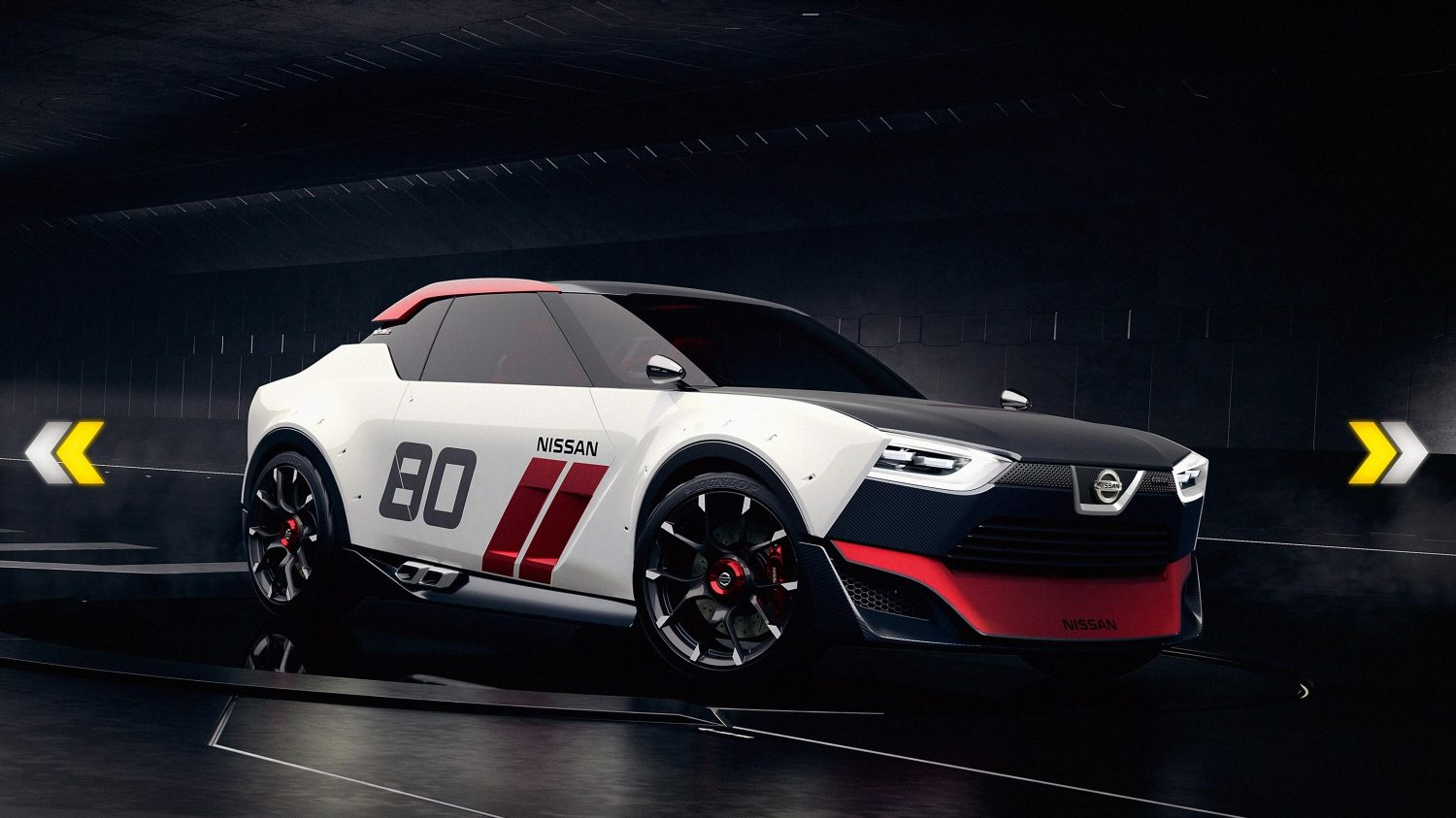 Experience Nissan - Concept car - IDx NISMO - side view