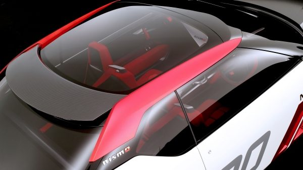Nissan IDX NISMO Concept. Gallery glass roof.