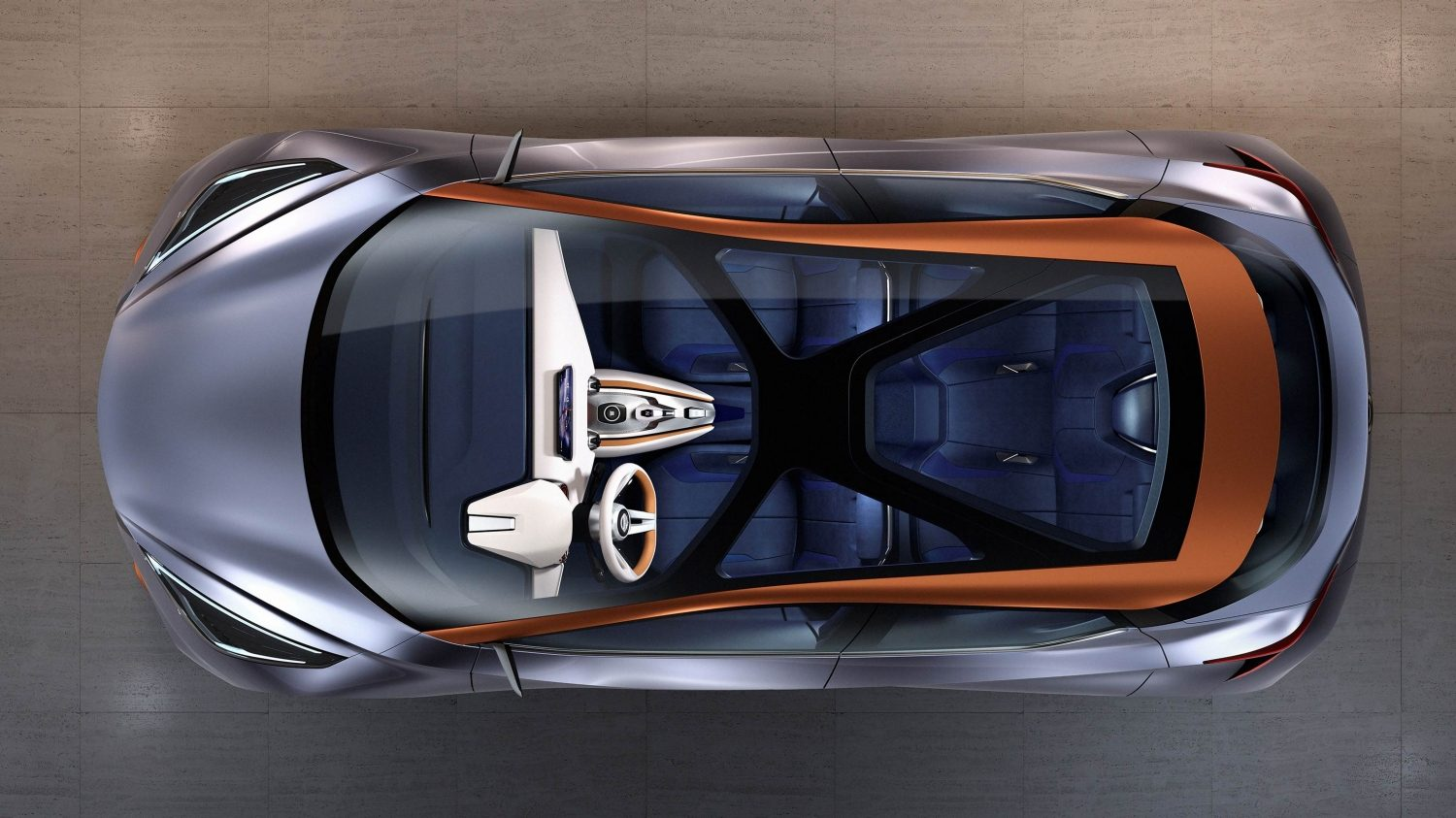 Nissan Sway Concept overhead.