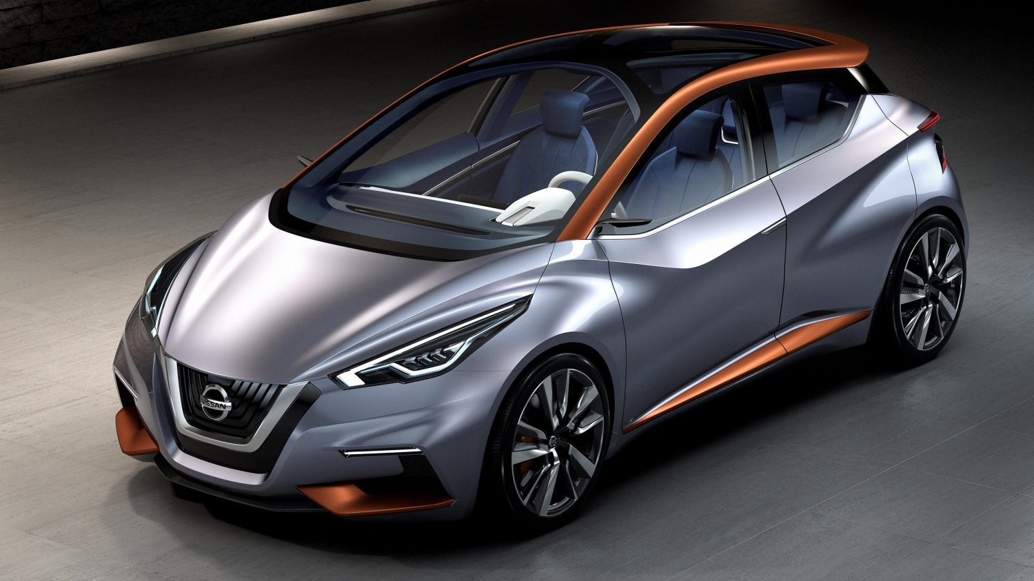 Experience Nissan - Concept car - Sway - 3/4 front view