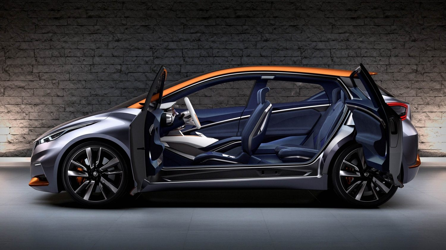 Experience Nissan - Concept car - Sway - profile