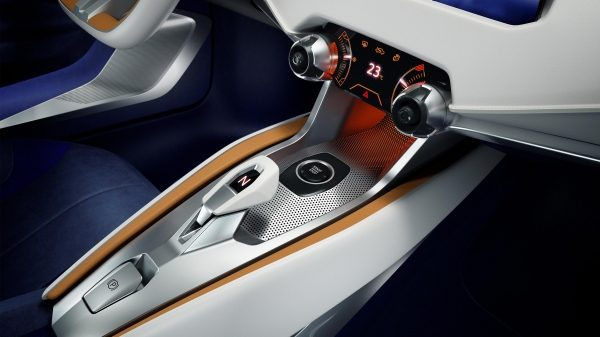 Experience Nissan - Concept car - Sway - shifter and center console