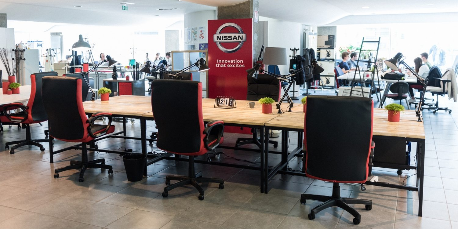 Nissan innovation lab based in Paris