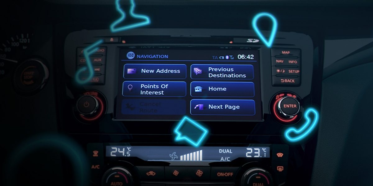 Display Nissan Connectivity