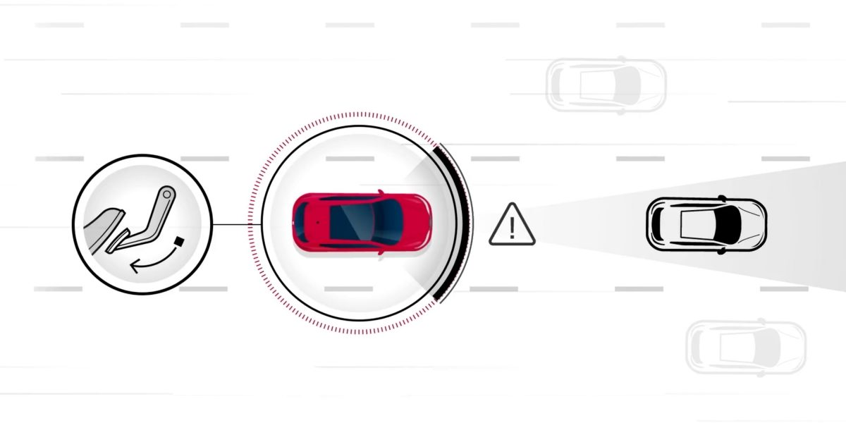 Nissan Intelligent Distance Control illustration