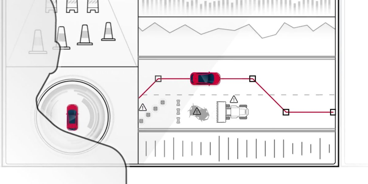 Seamless Autonomous Mobility: The Ultimate Nissan Intelligent Integration Video screen