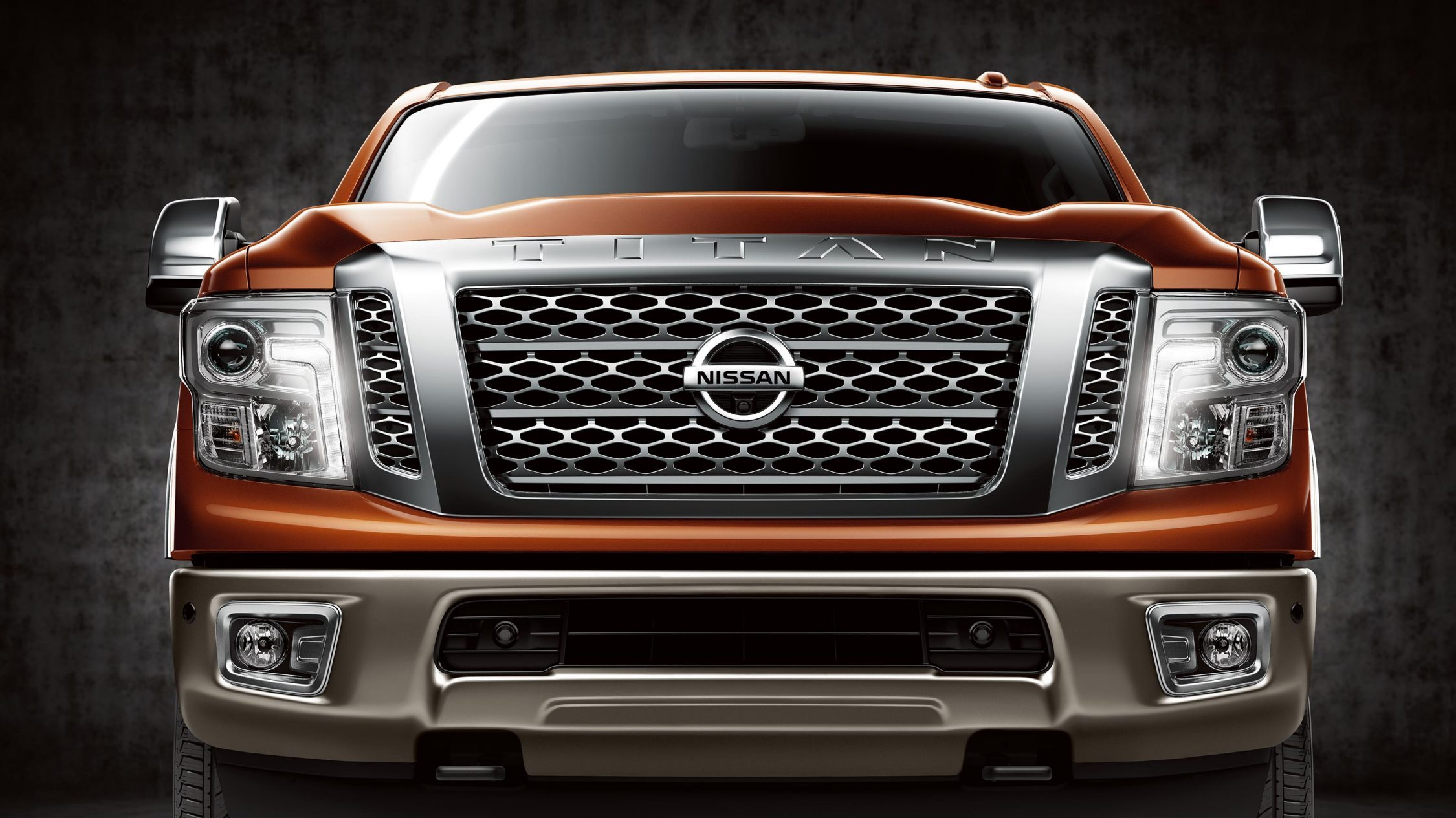 Experience Nissan - Events - Nissan TITAN - front view