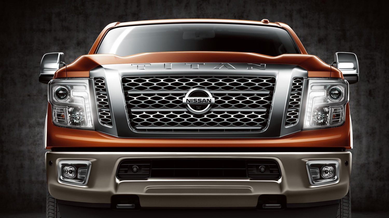 Nissan Titan – Imagine din față.