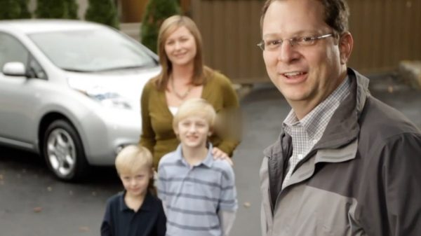 Experience Nissan - Events - Family with Nissan LEAF