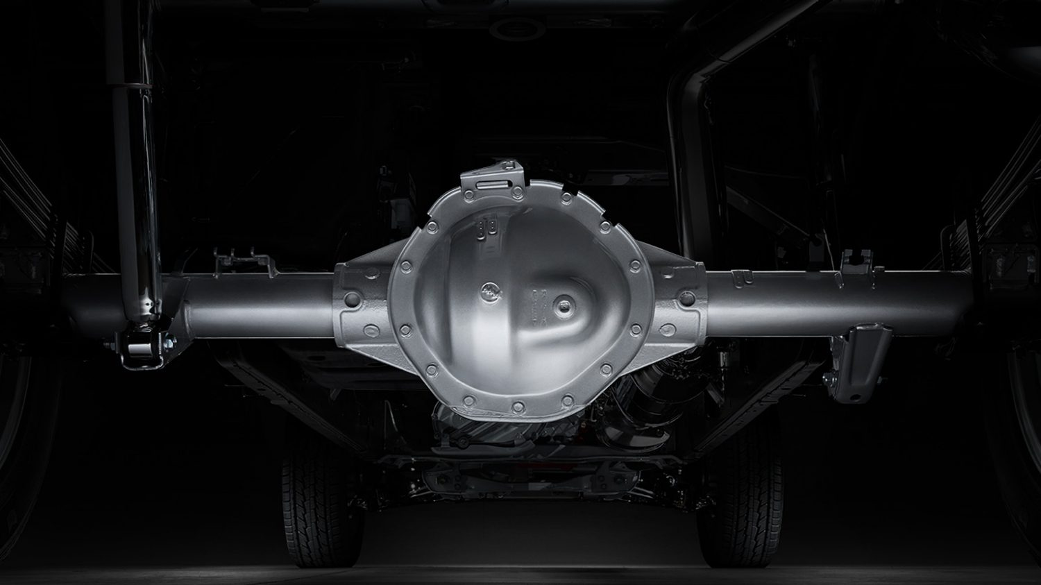 Titan XD axle and differential.