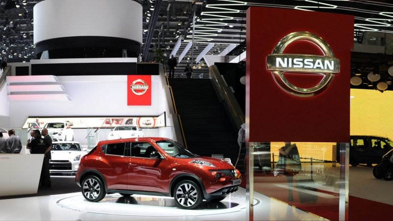 Salon de l'automobile Nissan