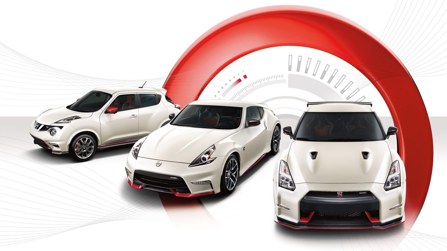 Experience Nissan - NISMO family: JUKE, GT-R, 370Z.